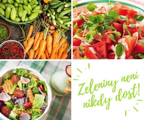 mrkev a další zelenina, protože zeleniny není nikdy dost