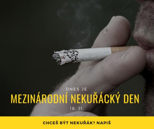 mezinárodní nekuřácký den